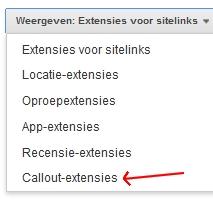 Advertentie-extensies