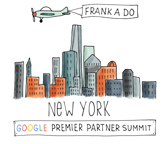 Google Premier Partner Summit New York illustratie