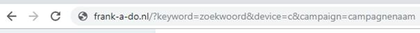 GET parameters in URL